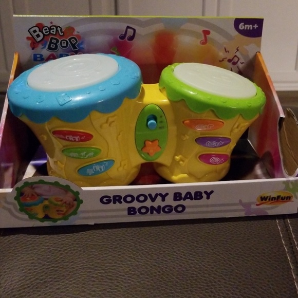 WinFun Other   Groovy Baby Bongo Drum Set New   Poshmark